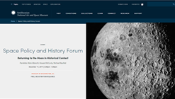Space Policy and History Forum